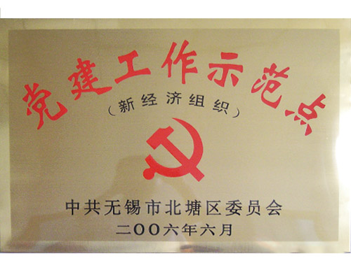 刘潭服装-新经济组织党建工作示范点