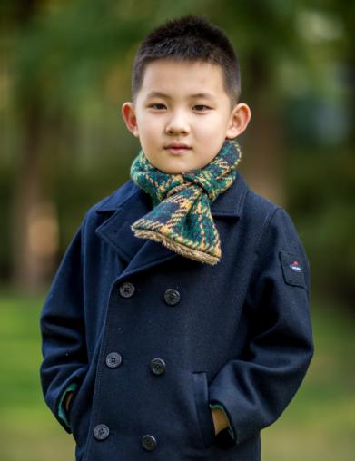男女童同款绗棉外套