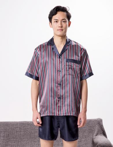 男式夏季酒店睡衣