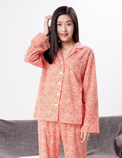 色织女式睡衣套