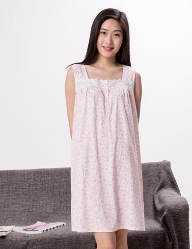 欧美针织睡裙